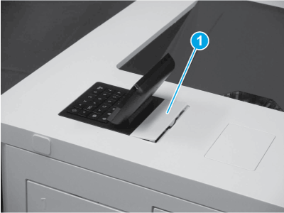 Install the control panel cover