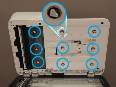 Install nine clips