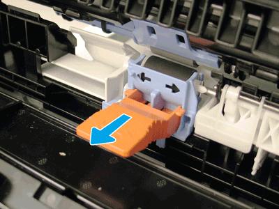 Remove the orange tool