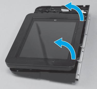 Tilt the control panel