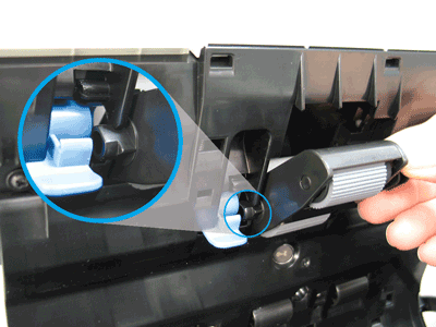Install the pick roller