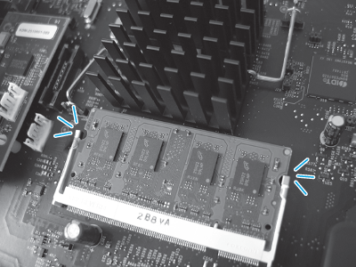 Check the DIMM installation