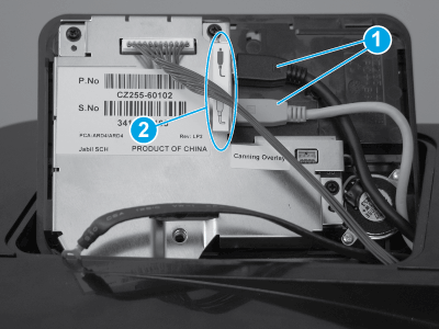 Check the USB cables connectors