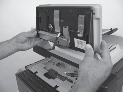 Remove the control-panel assembly