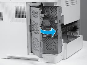 Close the formatter case door