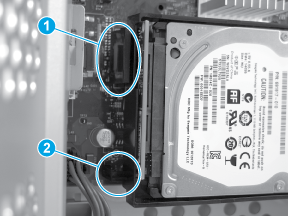 Verify HDD installation