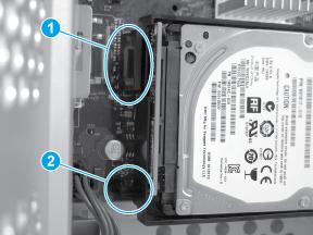 Verify HDD installation