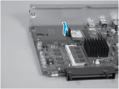 Remove the retainer clip