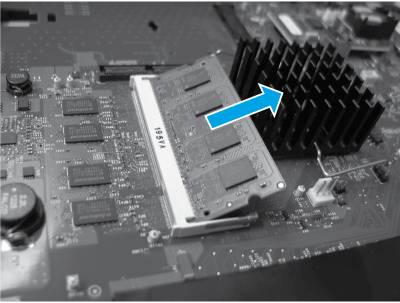 Remove the DIMM