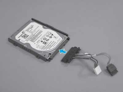 Attach the connector assembly