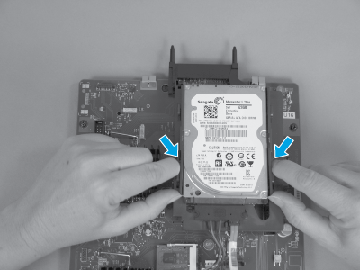 Remove the HDD (2 of 4)