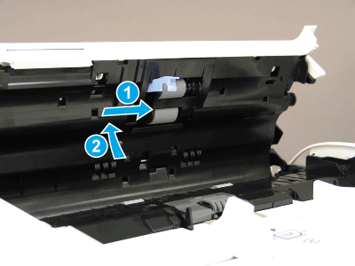 Install the roller assembly