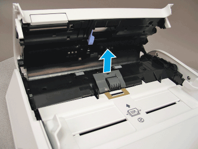 Remove the separation pad assembly