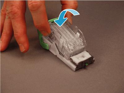 Install the staple cartridge refill