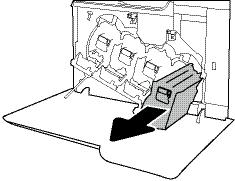 Remove the toner cartridge