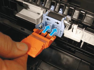 Install the orange tool