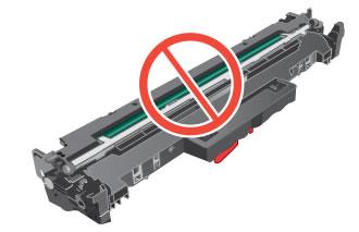 Rør ikke ved den grønne valse på billedbehandlingstromlen