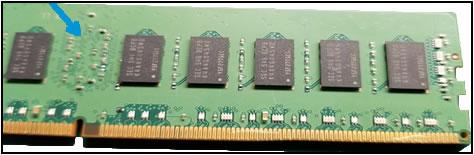 RAM PCB damage