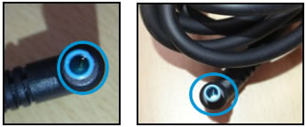 Adapter pin damage