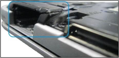 Ethernet port damage