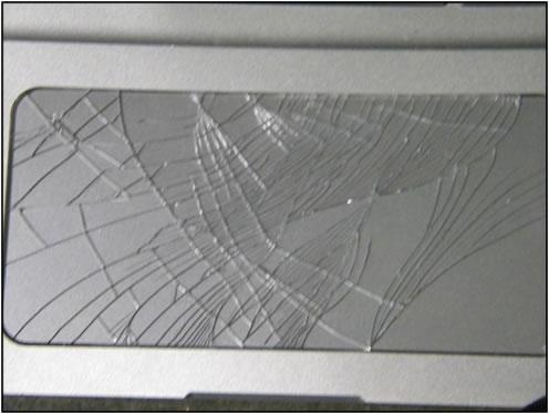 Touchpad damage