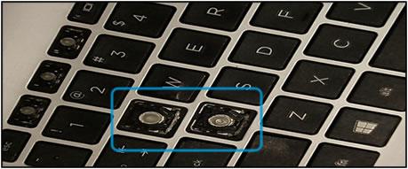 Keyboard damage