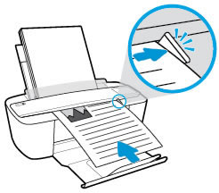 Loading a document into the document feeder