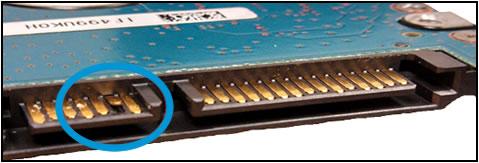 Danno alla porta del cavo dell'HDD