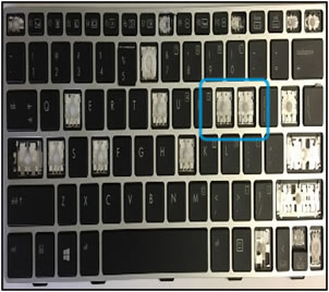 Danno alla tastiera