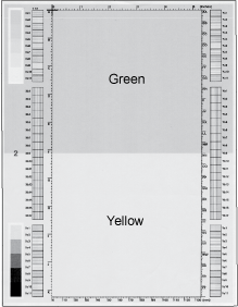 Yellow comparison page