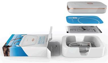 Извлечение принтера Sprocket из упаковки