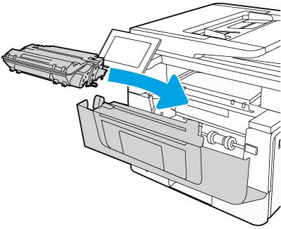 安装碳粉盒