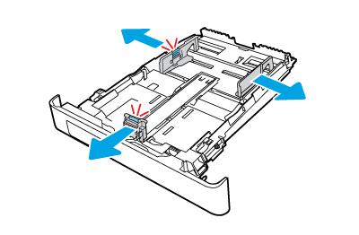調整紙張導板