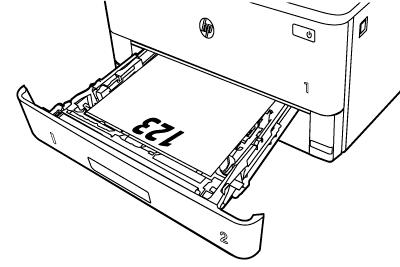 Papierausrichtung