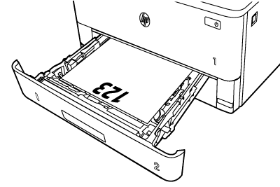 Orientación del papel
