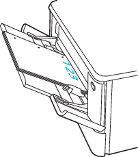 用紙の向き (穴が左側)