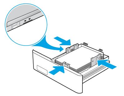 检查纸张导板和纸叠高度