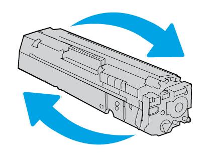Покачивание лазерного картриджа