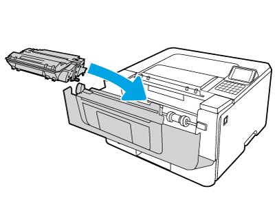 Install the cartridge
