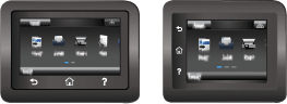 Black control panel examples
