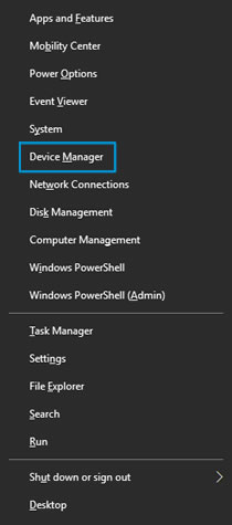 Opening Device Manager