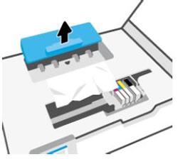 Retirar la cubierta del módulo de impresión a doble cara