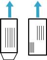 Exemple d'orientation des enveloppes