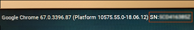 Het HP-serienummer herkennen in het aanmeldingsscherm