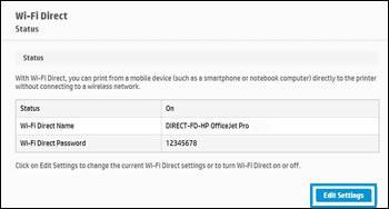 Hacer clic o tocar Editar configuración