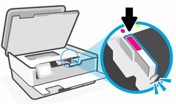 Installing the ink cartridge