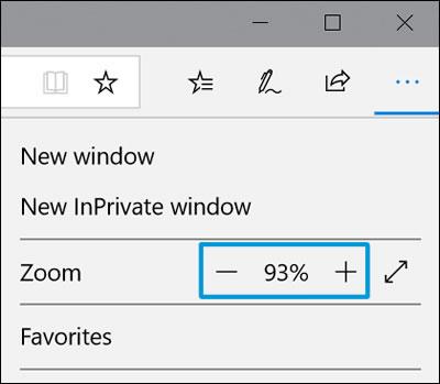 Ajuste de la configuración de zoom (Acercar/alejar)