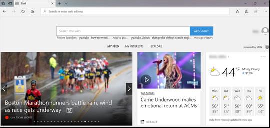 Browser van Microsoft Edge