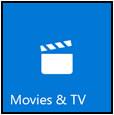 電影和電視動態磚