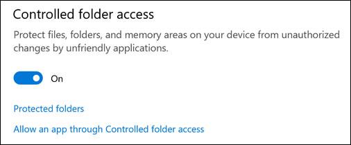 選擇如何保護您的檔案和資料夾